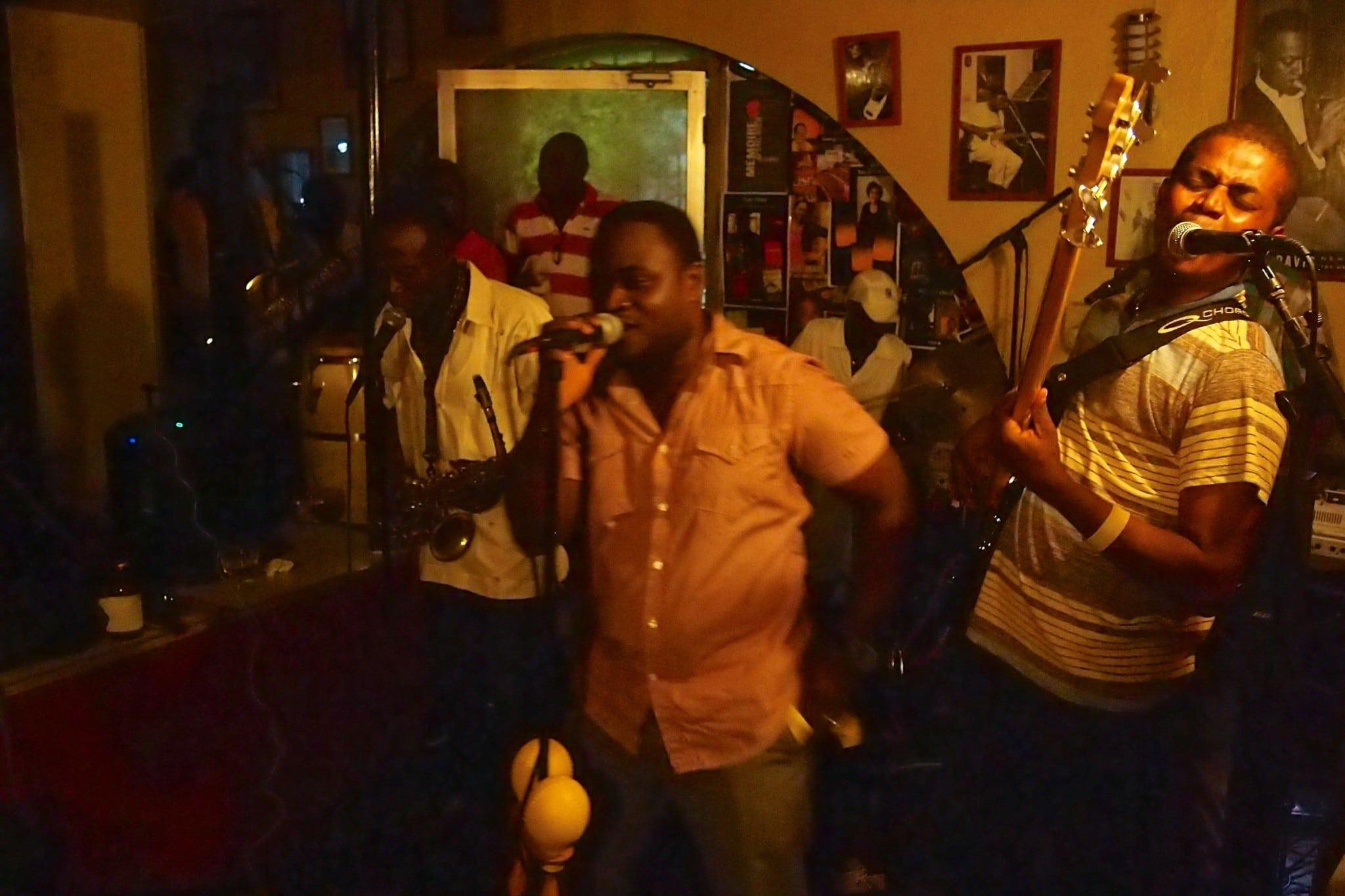 Dancing Friday Night Away at Presse Café, Haiti