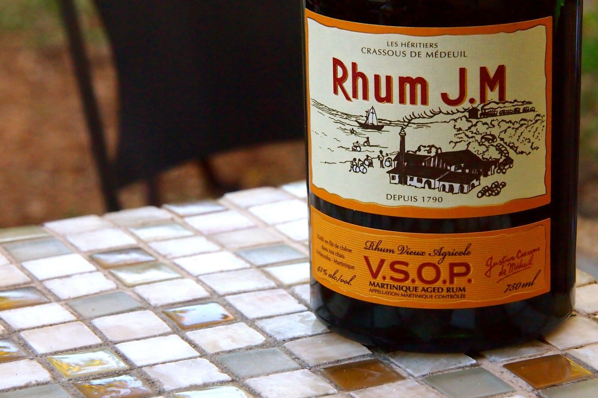 Friday Happy Hour: Martinique's Magnifique Rhum JM Vieux Agricole VSOP