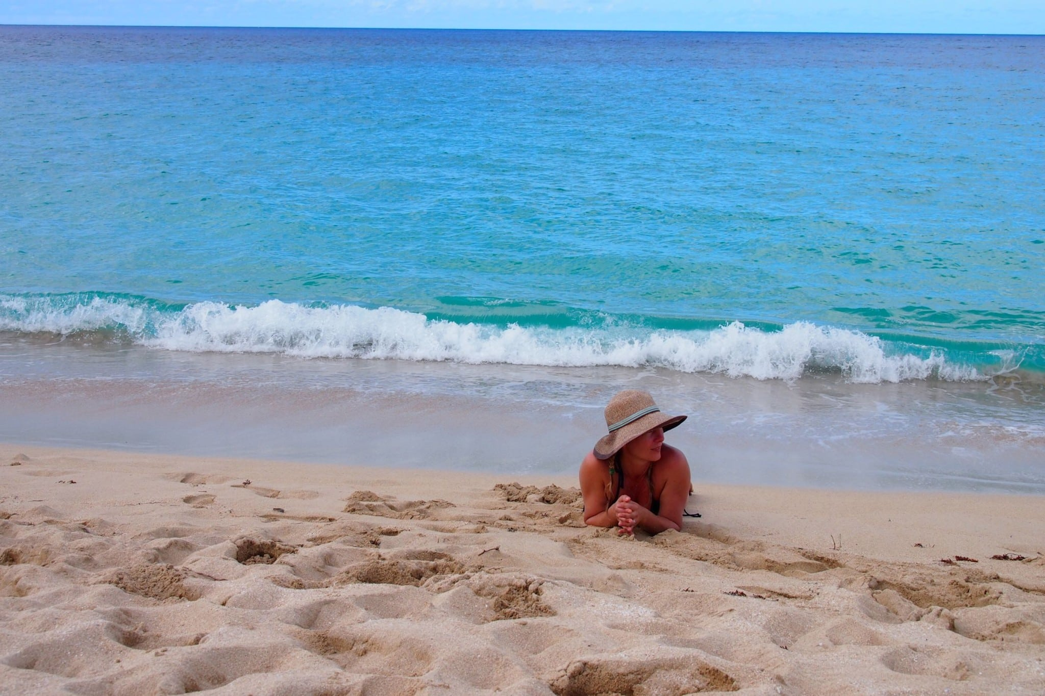 Thawing Out on Sandy Point, St. Croix: Wish You Were Here