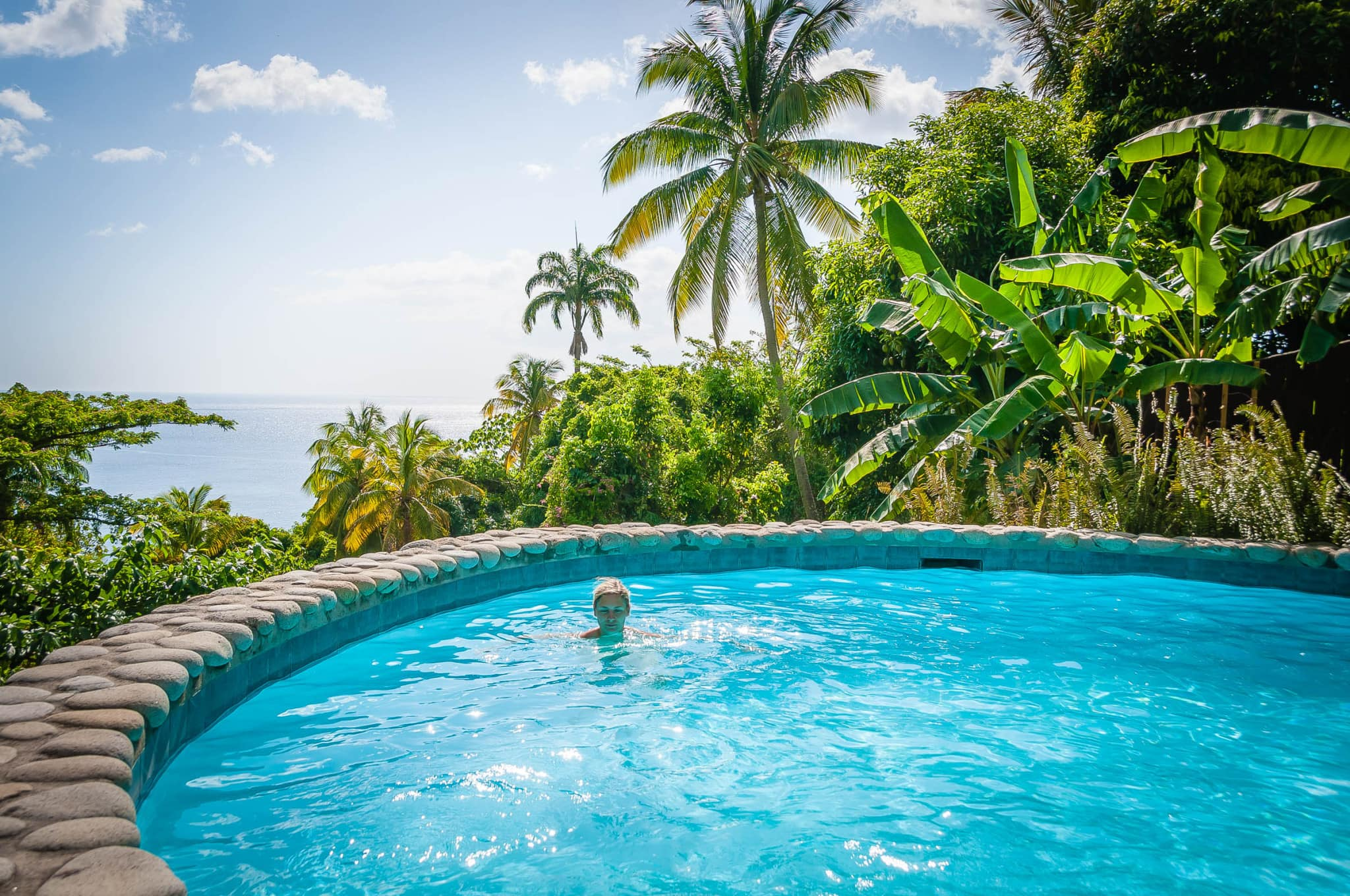 Taking a Secluded Dip in Your Private Pool, St. Lucia: Wish You Were Here