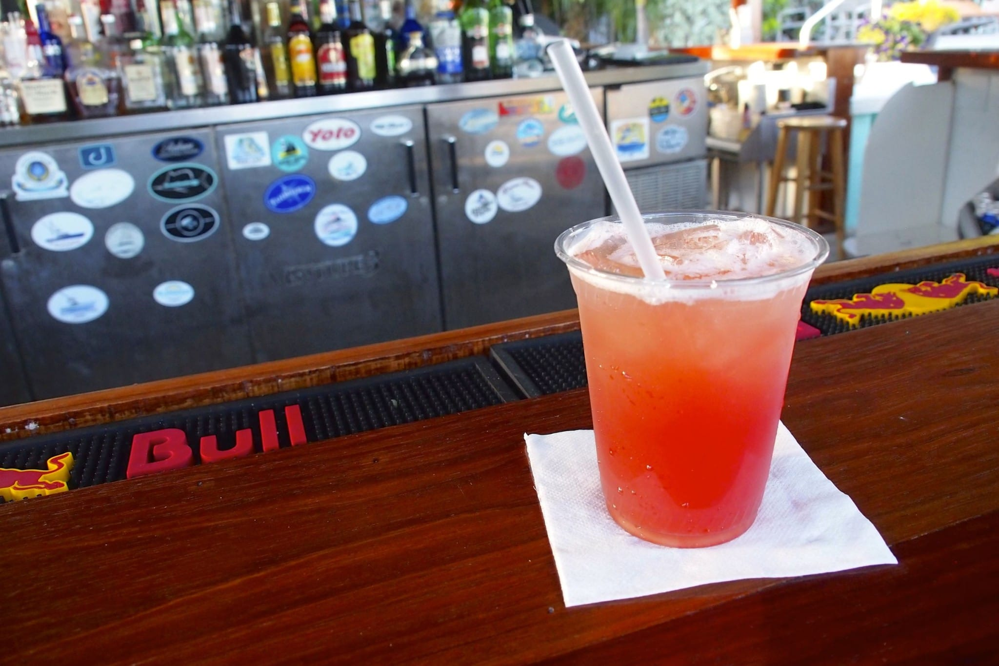 Berry-licious Whatchamacallit Cocktails at Abaco Beach Resort