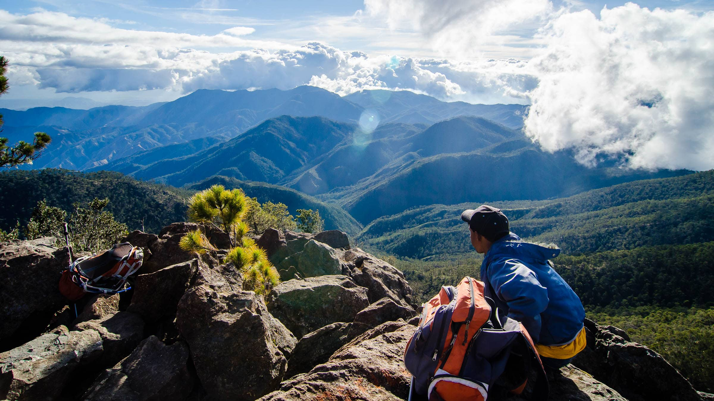 Taking It All In Atop The Caribbean On Pico Duarte