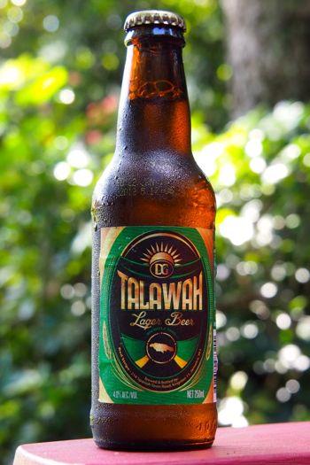 Talawah Lager, brewed a yard in Jamaica | SBPR
