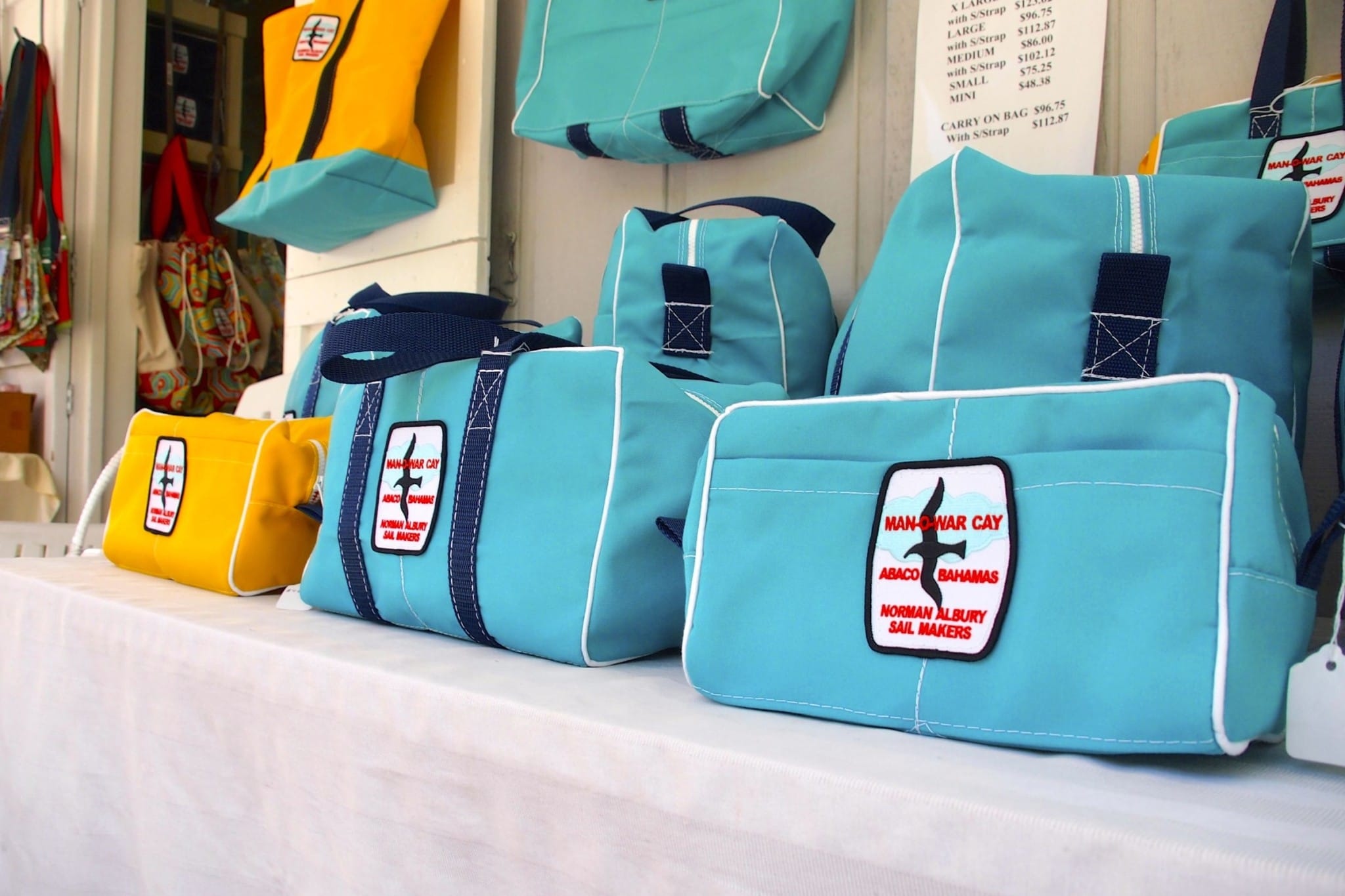Norman Albury Sail Makers Bag: A Century of Sailing Tradition