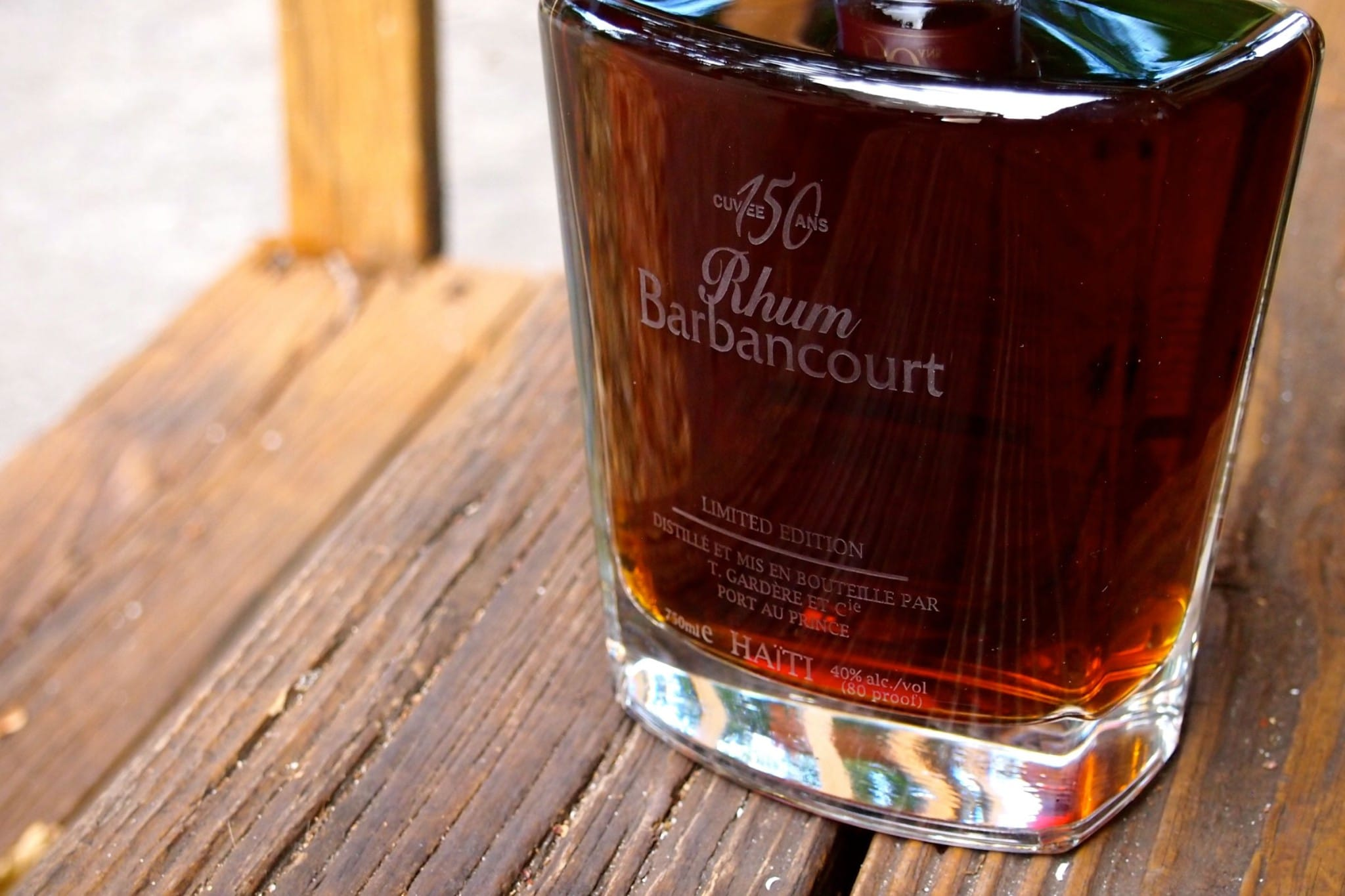 Showy and Sweet Rhum Barbancourt Cuvée 150 Ans
