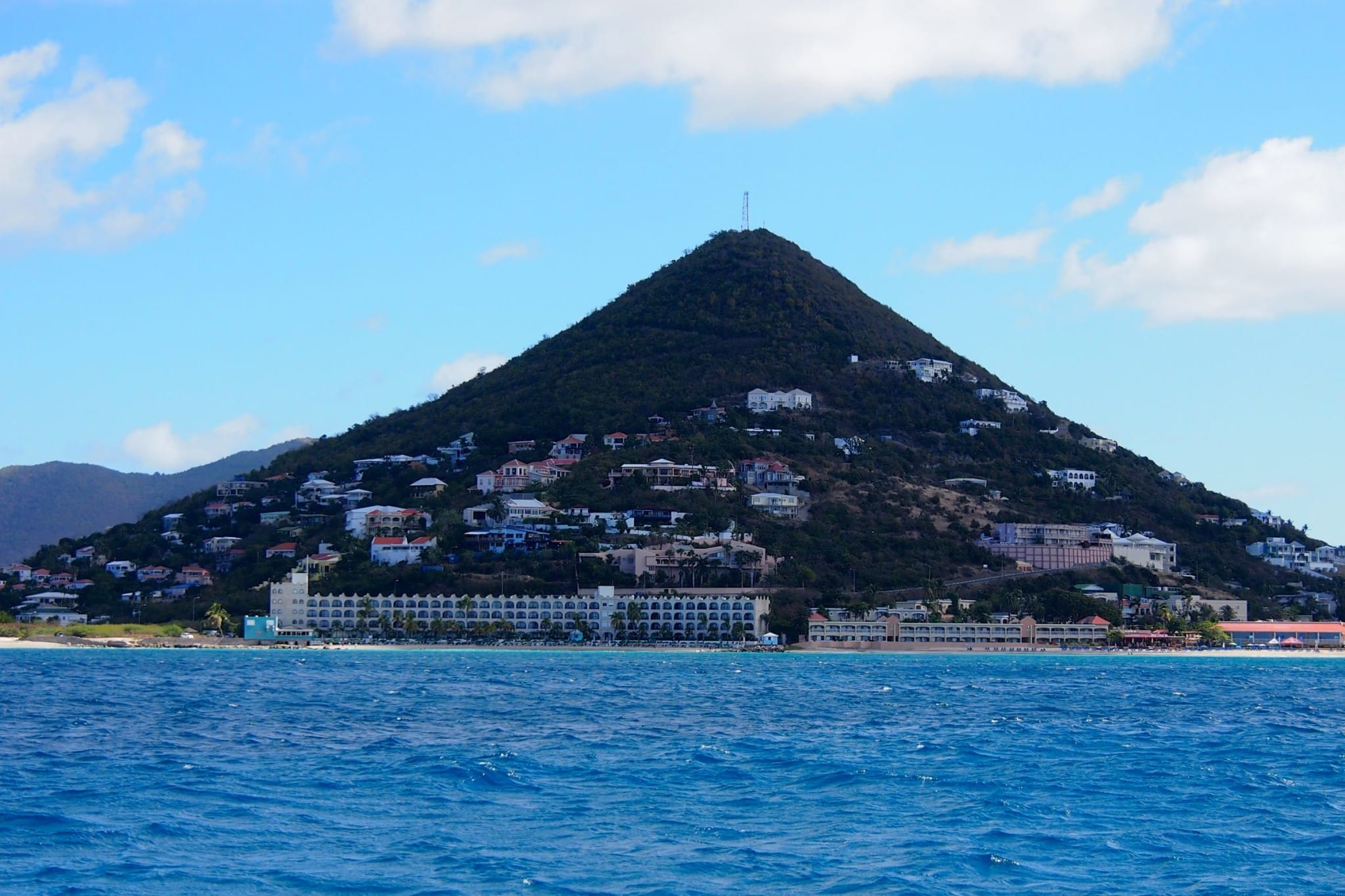 The Hills of St. Maarten From The Sea: Photo of the Day