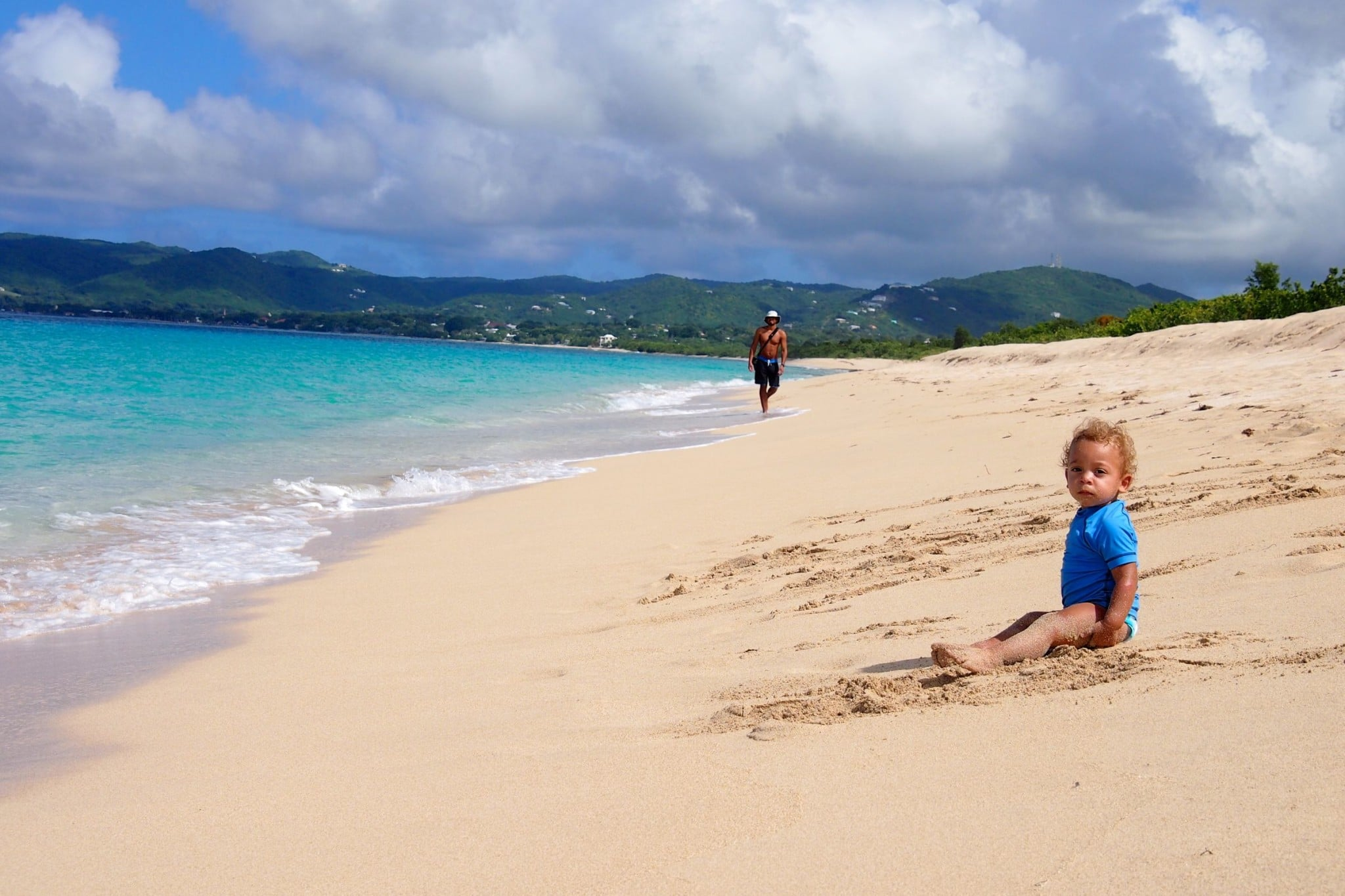 Beachin' It for Father's Day on St. Croix: Wish You Were Here