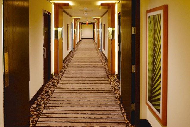 Hilton Bimini Hallway | Credit: Zickie Allgrove