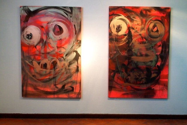 Two of my favorite art pieces at Galerie Monnin, Haiti   SBPR