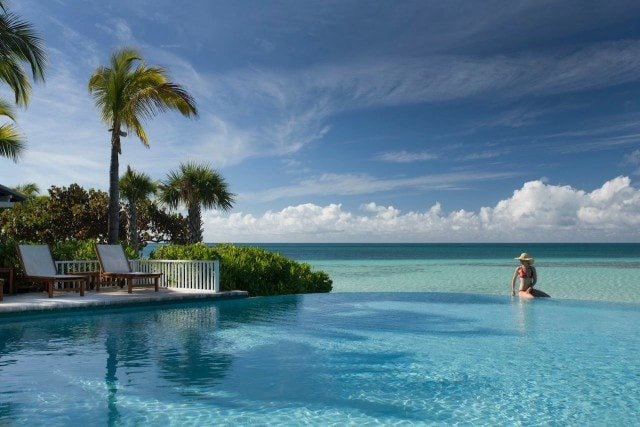 Poolside at Deep Water Cay