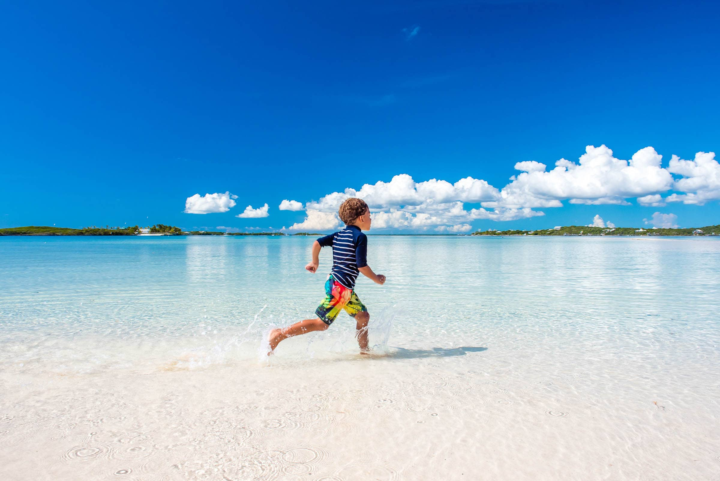 Running Free On Beautiful Tahiti Beach The Abacos