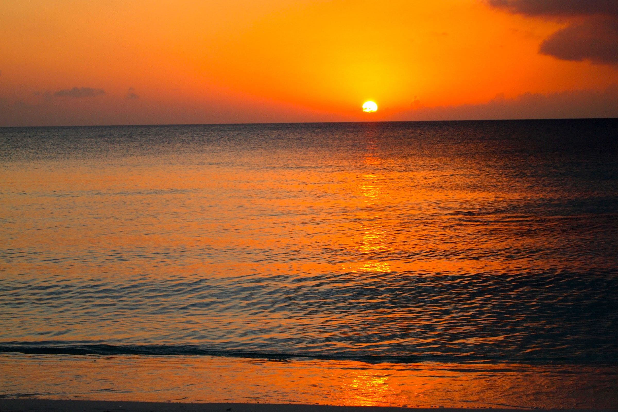 Seven Sunsets Over Mile Beach Grand Cayman