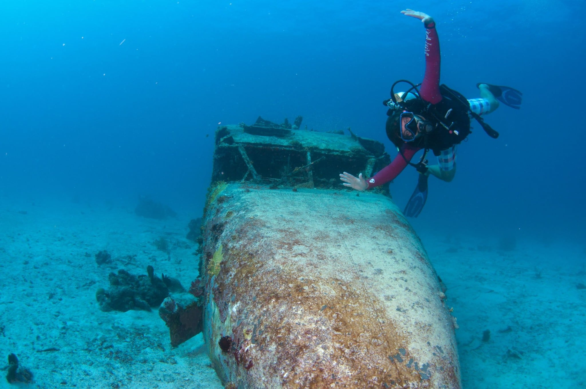 Great Dog Island Airplane Wreck, BVI: Uncommon Attraction