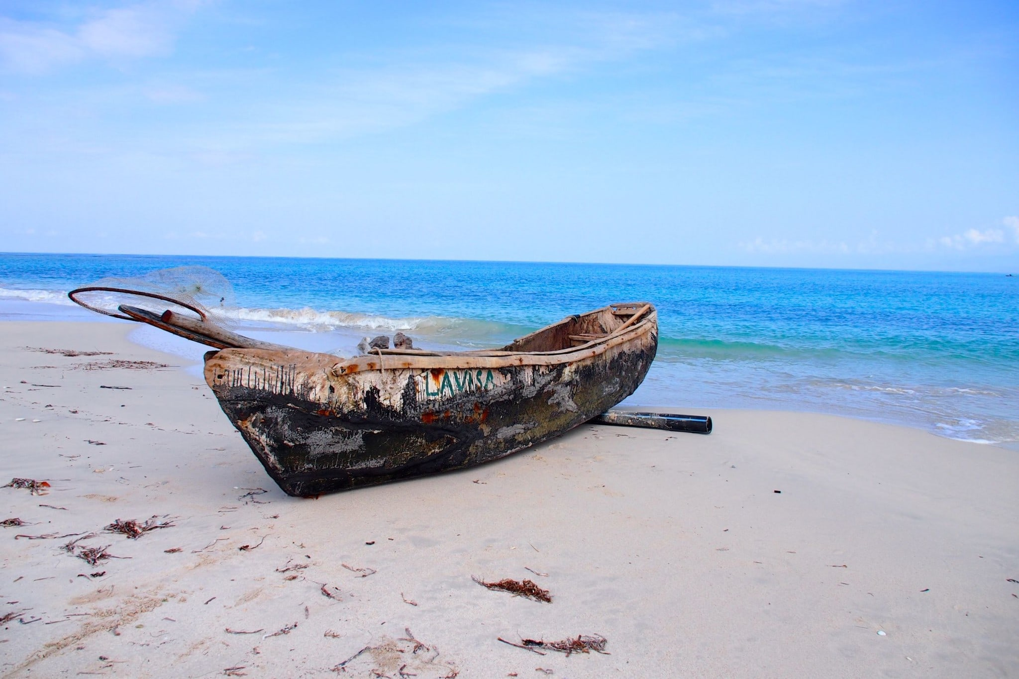 One Lonely Fishing Boat in Port-Salut, Haiti: Photo of the Day