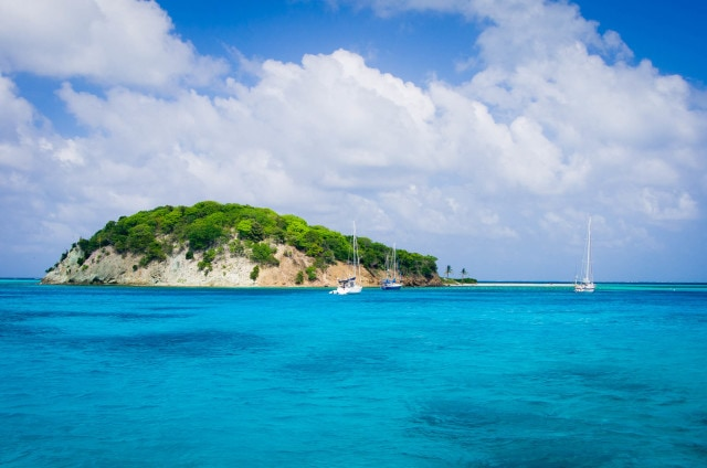 The Tobago Cays by Patrick Bennett