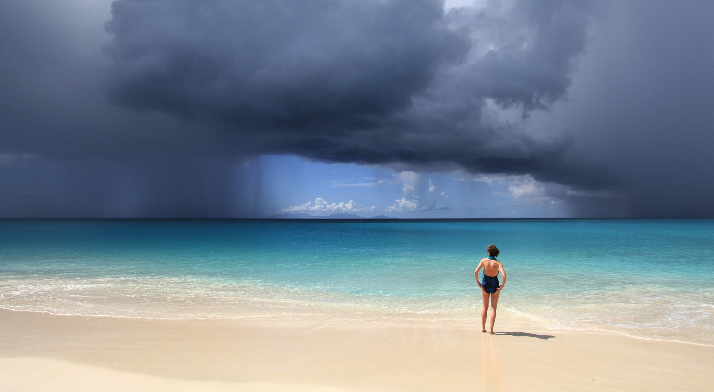 Sunny Shores Immune To Rainy Skies In Antigua Antigua