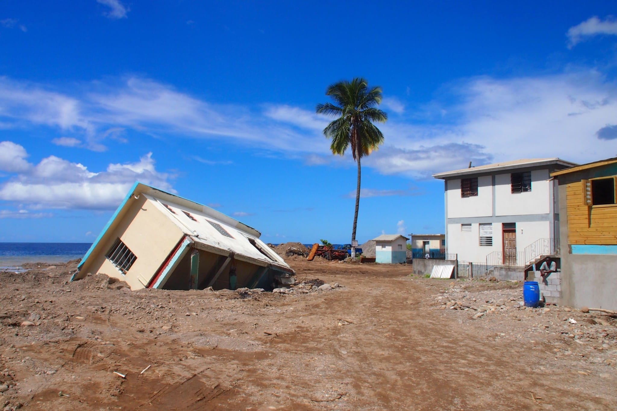Remnants Of T.S. Erika Along The Road To Recovery