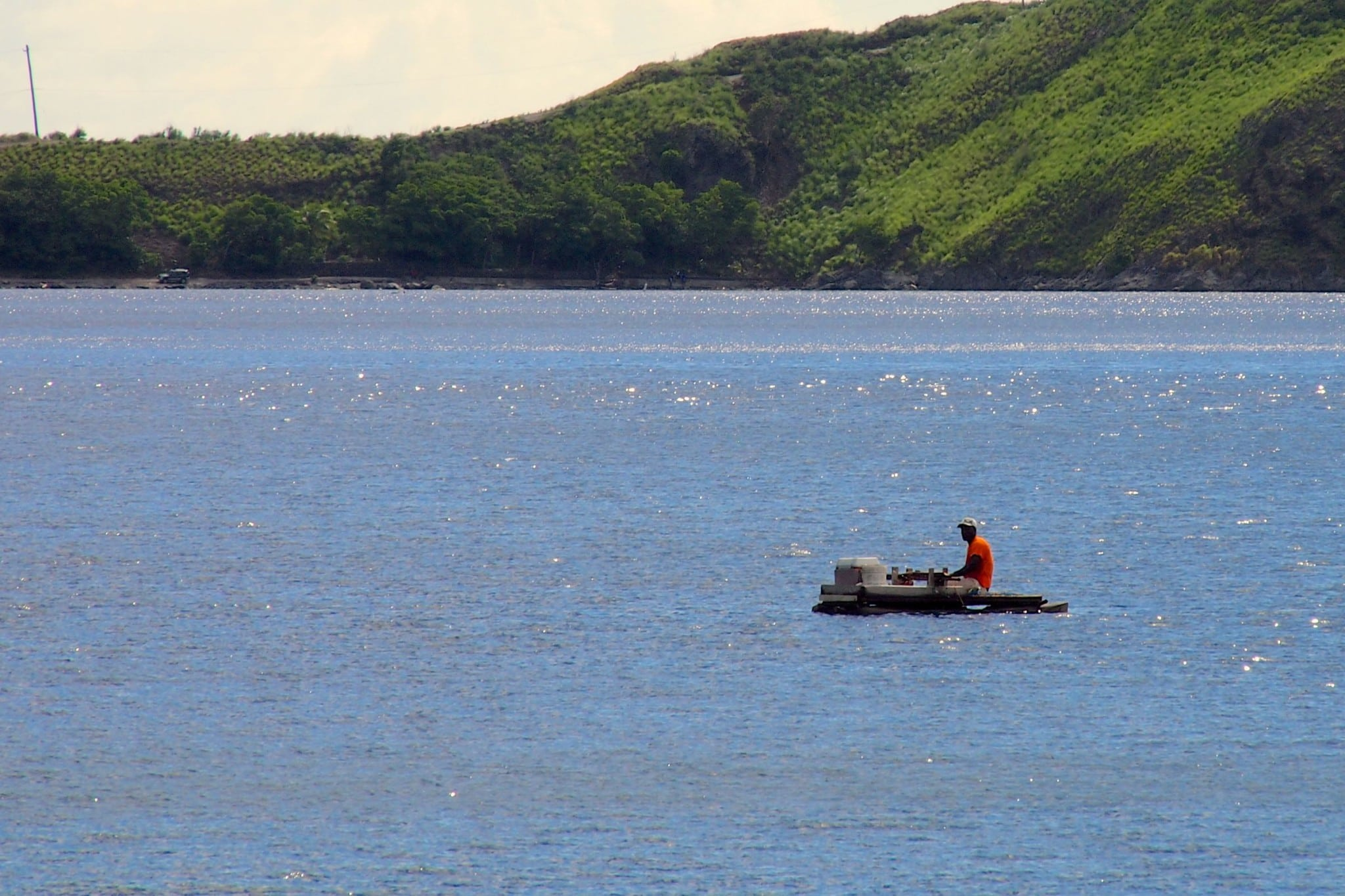 Pwi Pwi Fishing in Soufriere Bay, Dominica: Photo of the Day