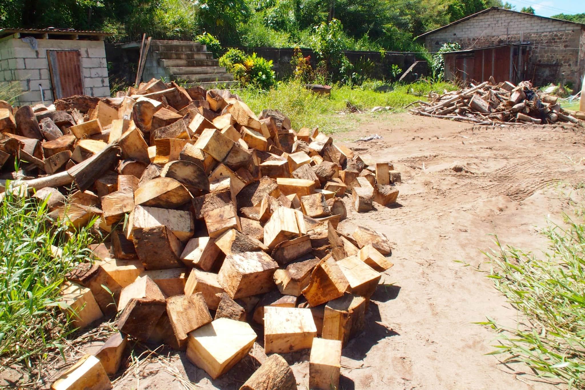 Firewood at Macoucherie   SBPR