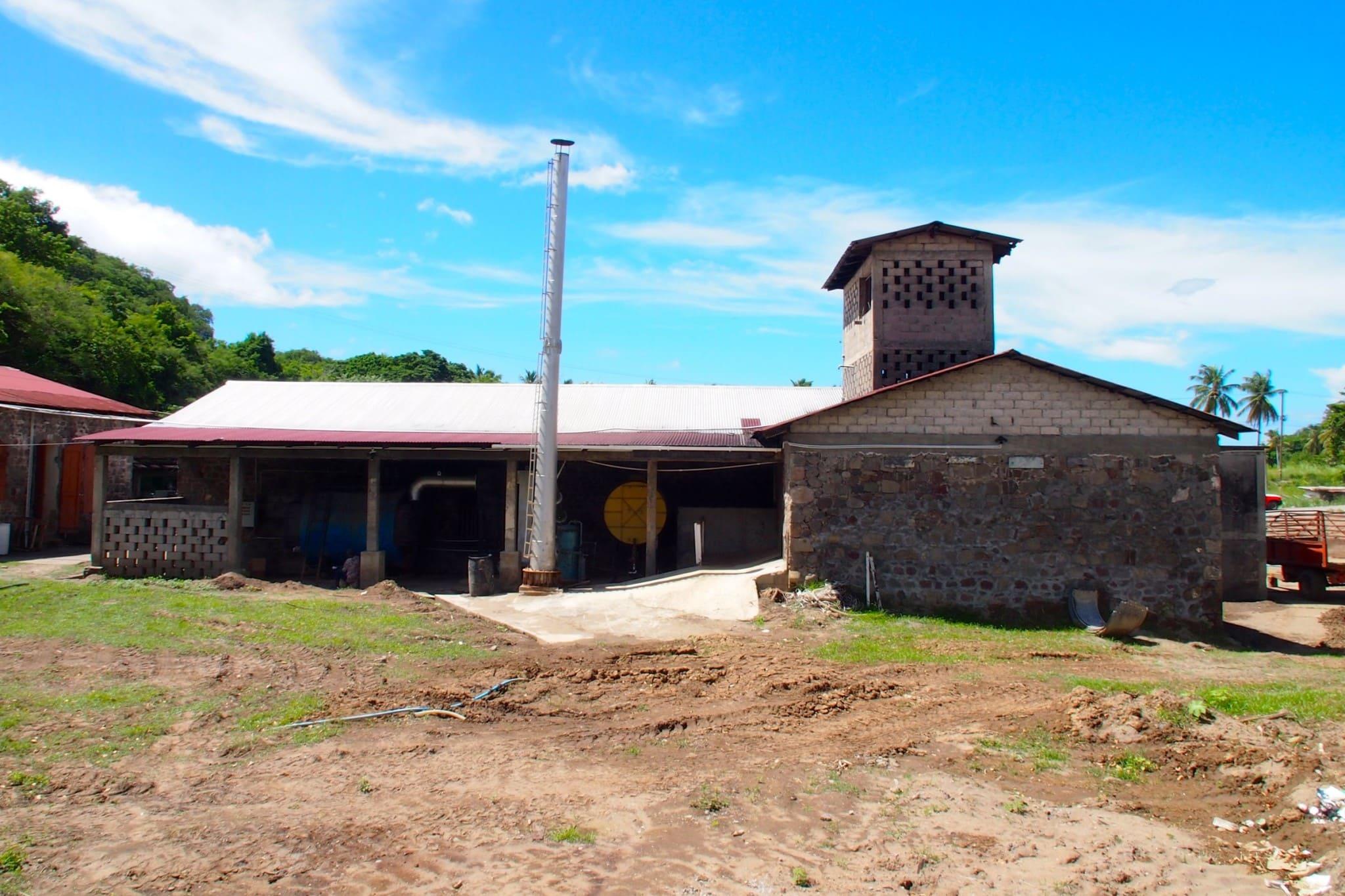 Macoucherie Rum Distillery, Dominica, est. 1763   SBPR
