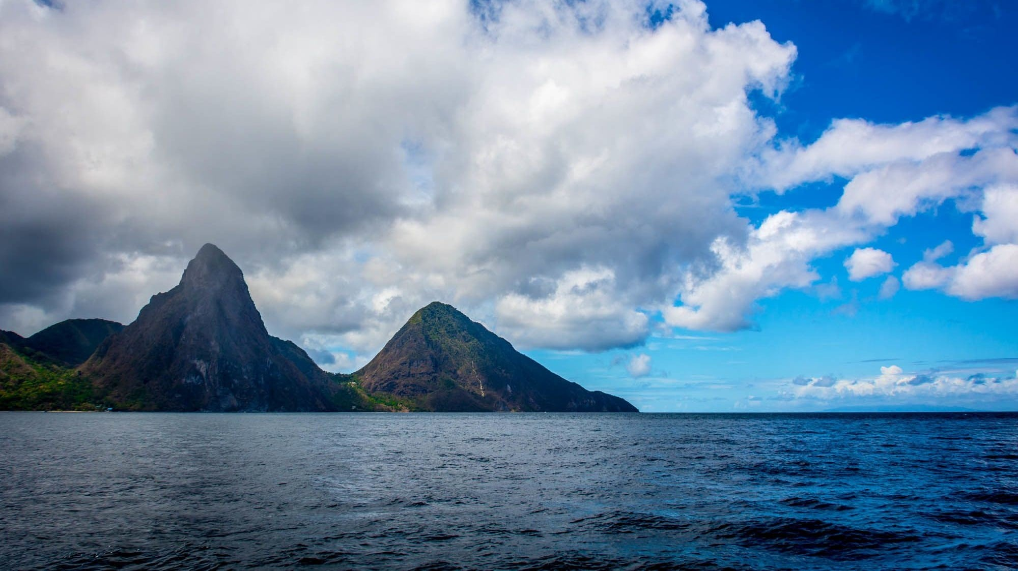 Soufrière in the Shadows of The Pitons, St. Lucia