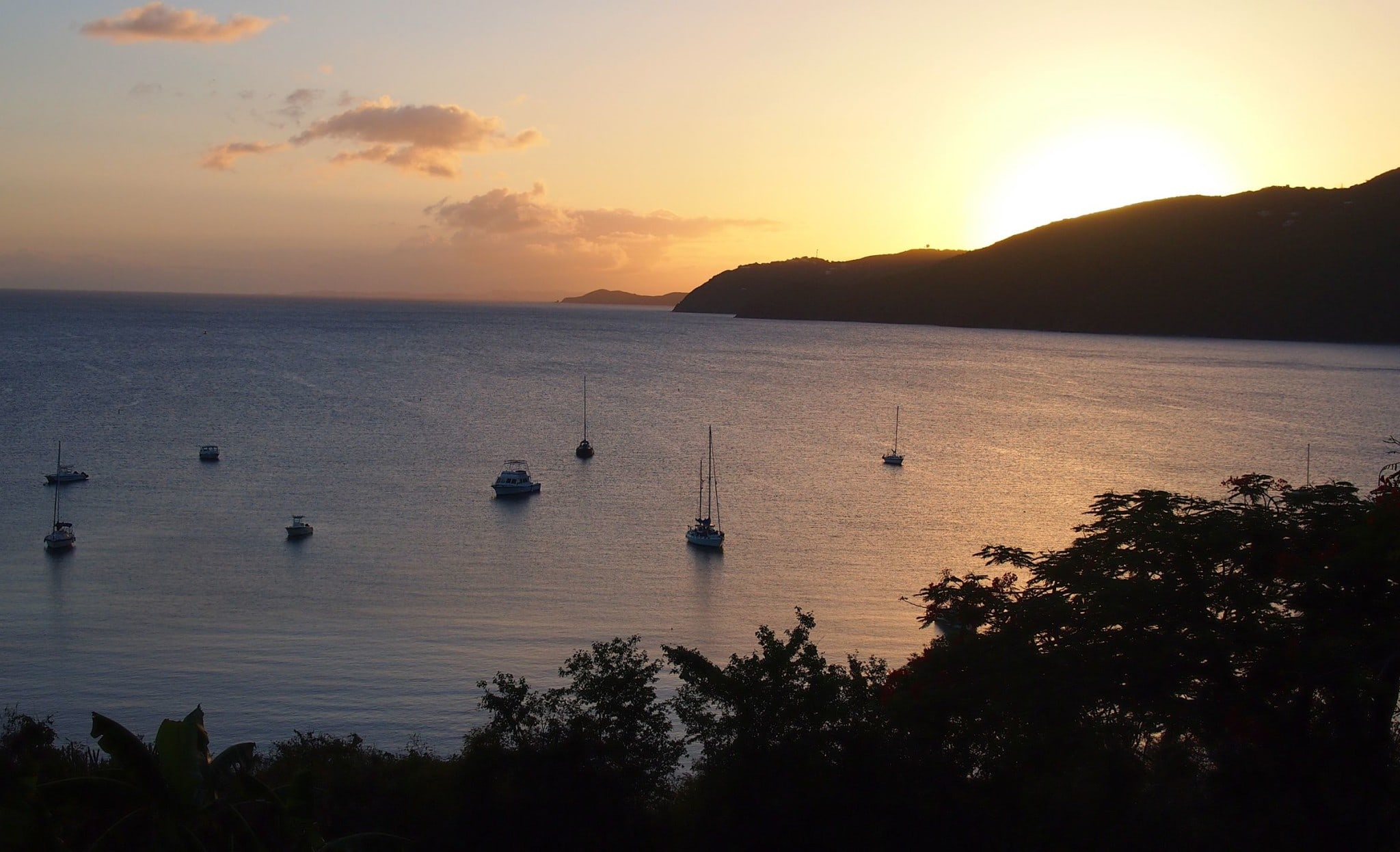 Getting Schooled on Sunsets at UVI, St. Thomas