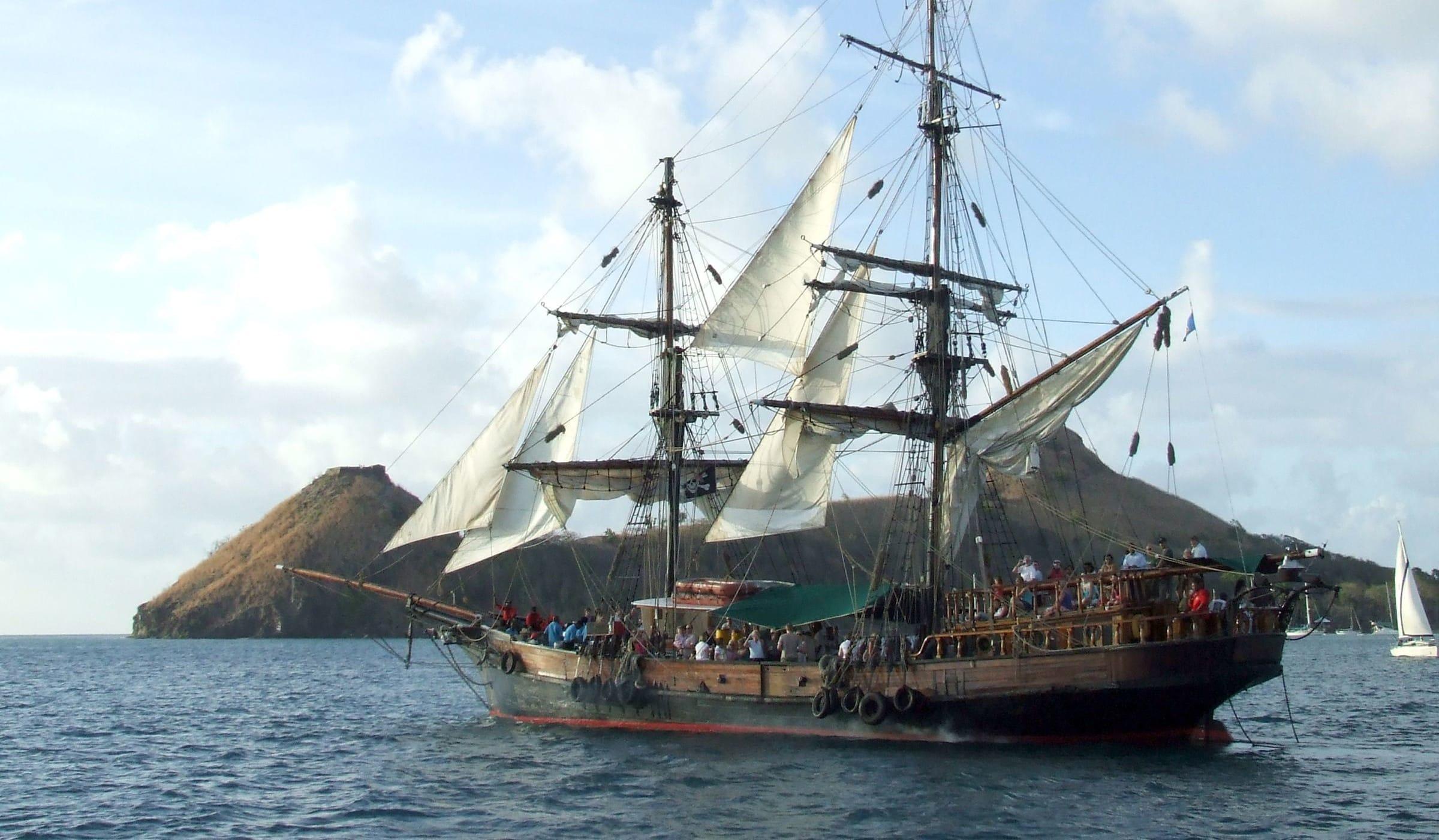 Uncommon Attraction The Brig Unicorn Pirate Ship St Lucia