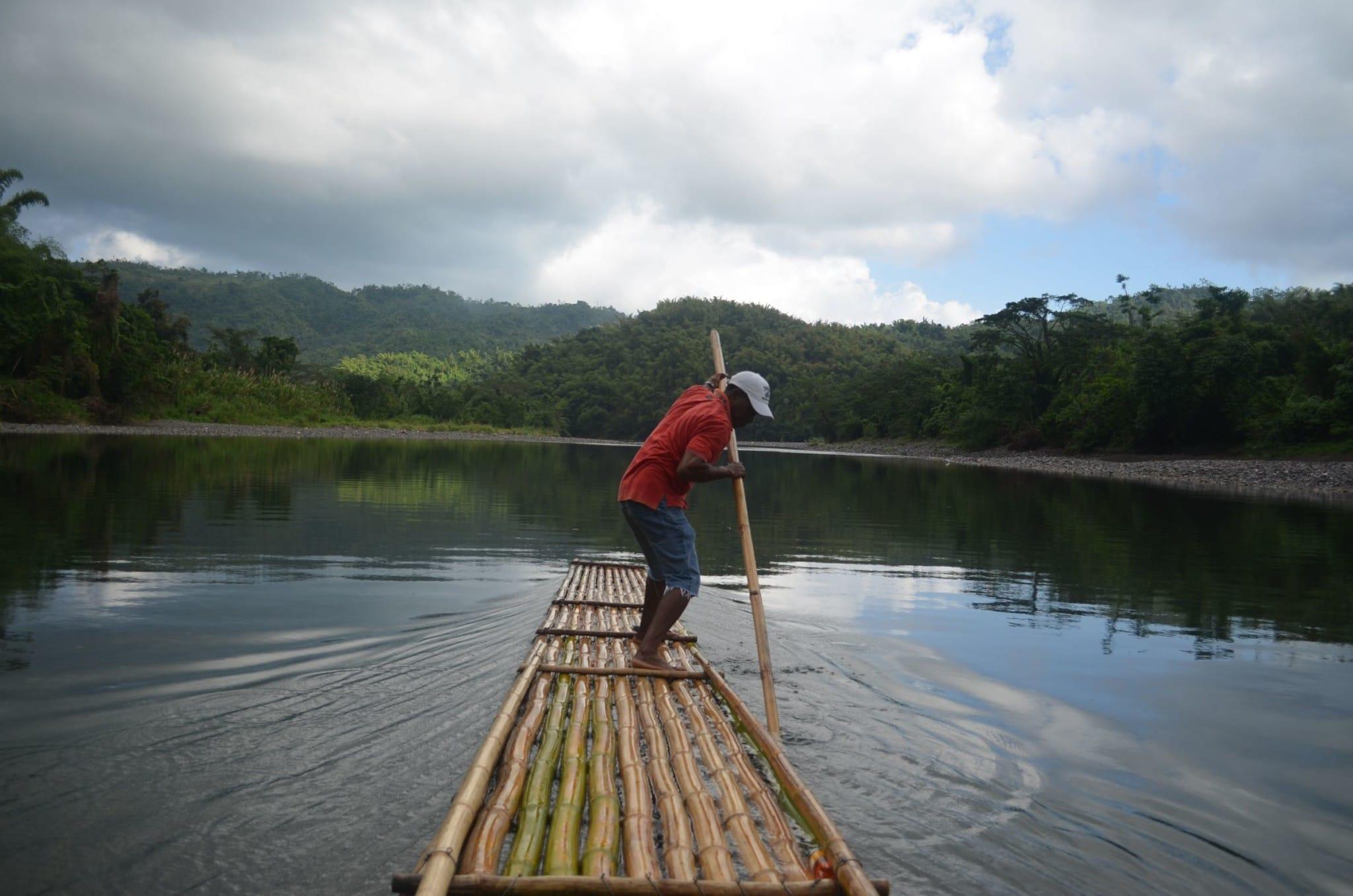 River Rafting Through The Real Jamaica in Port Antonio