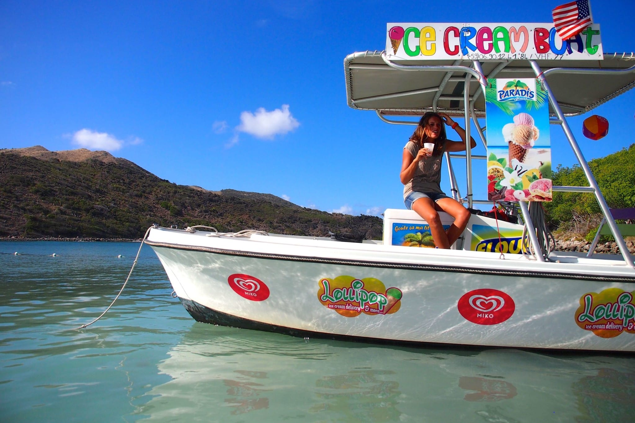 On-Site St. Martin: Cooling Off With the Ice Cream Lady of Pinel Island