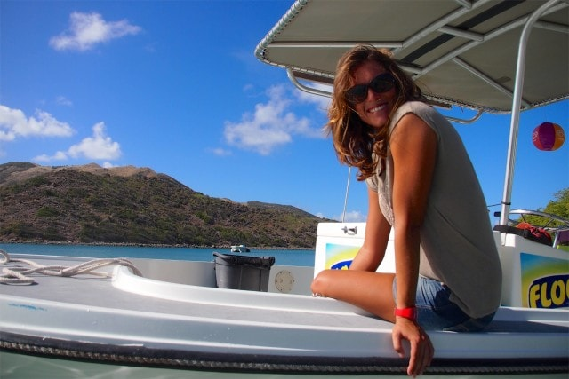 The sweetest lady on the beaches of St. Martin | SBPR