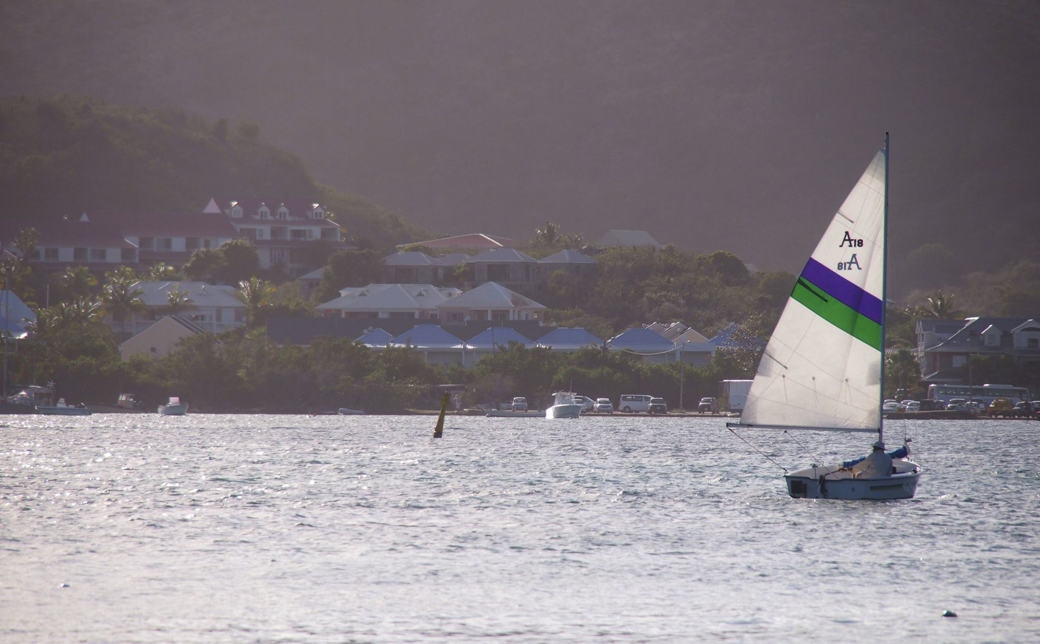 Out For An Afternoon Sail in Baie du Cul-de-Sac, St. Martin