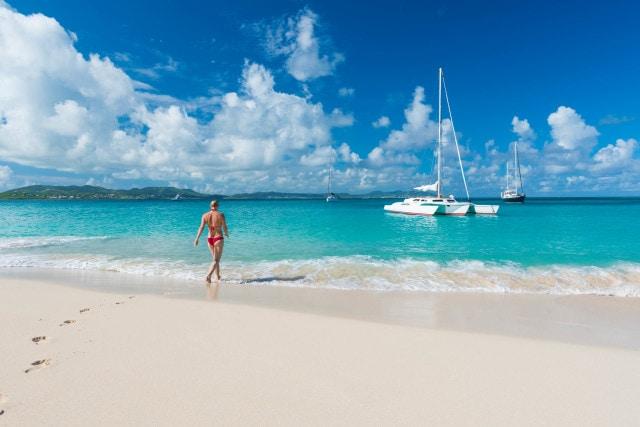 Bikini Buck Island, St. Croix by Patrick Bennett