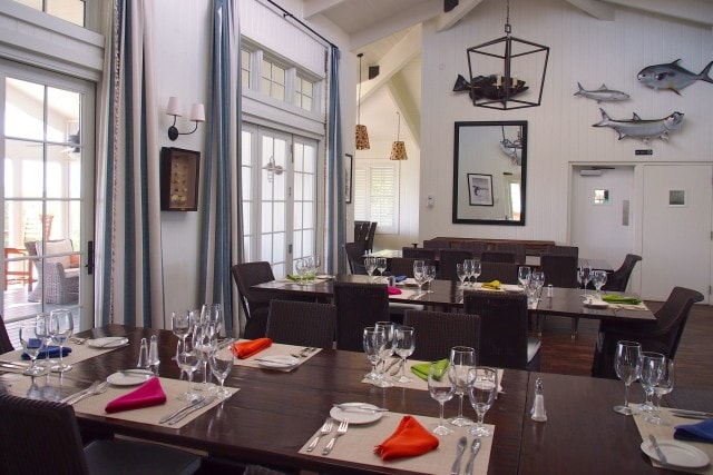 Dining Room at The Lodge at Deep Water Cay | SBPR