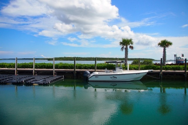 All gassed up and ready to go over to Deep Water Cay | SBPR
