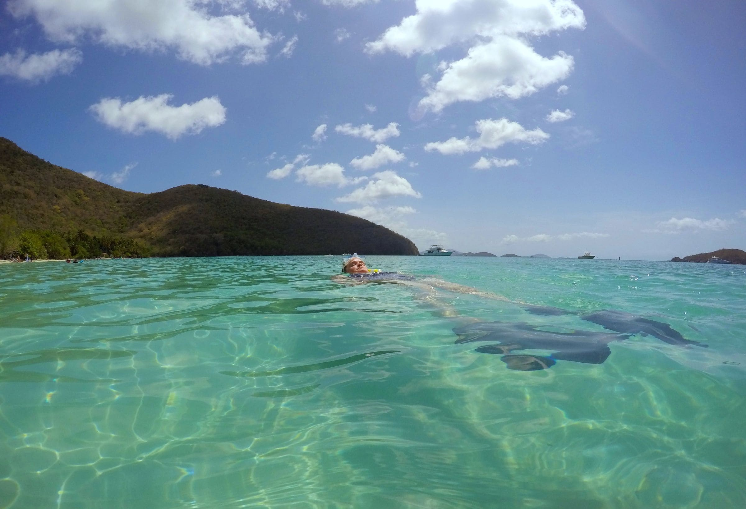 Wish You Were Here Floating Around Maho Bay St John U S Virgin Islands