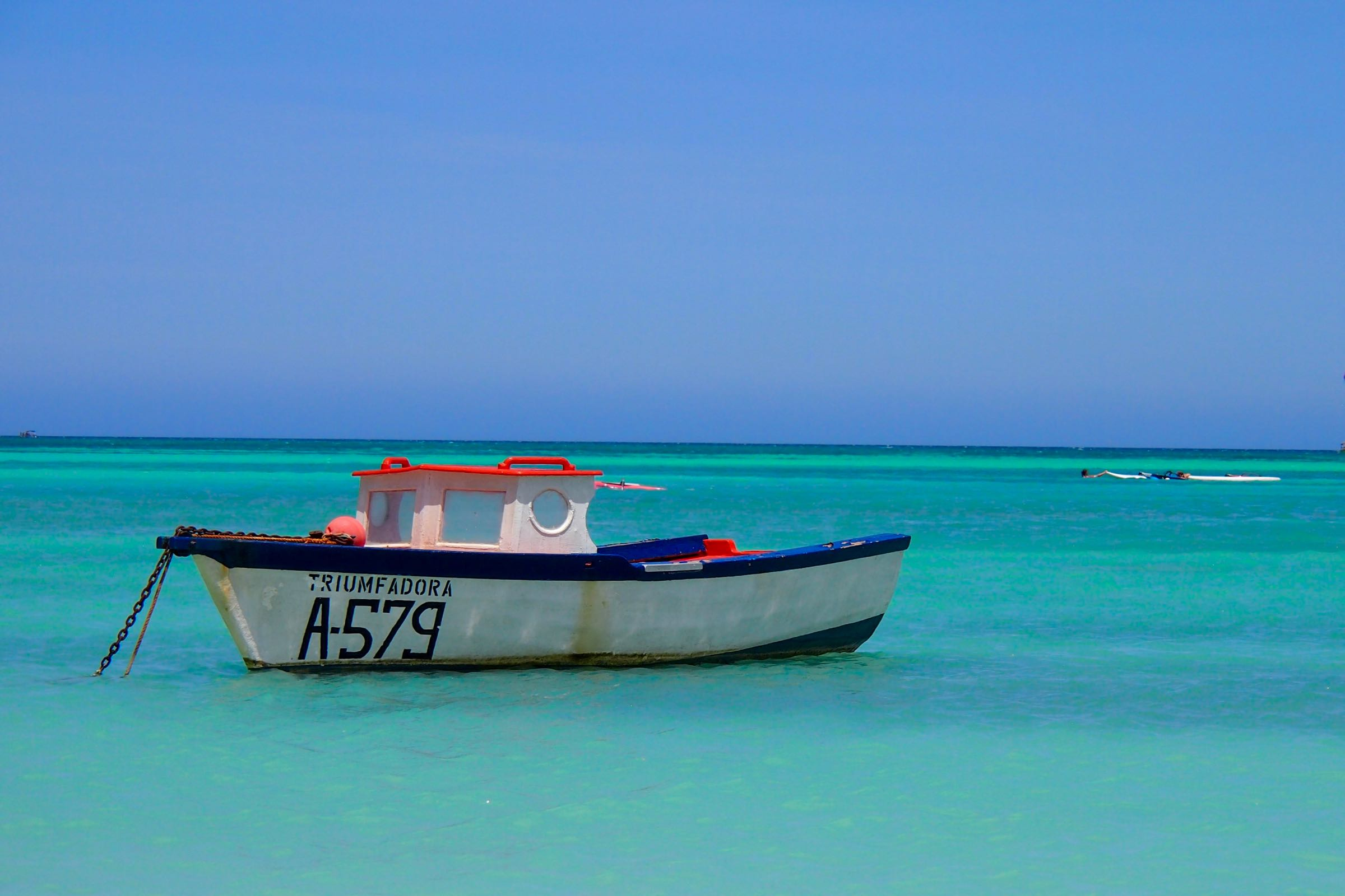 The smiling fishing boats of aruba aruba Fishing in aruba