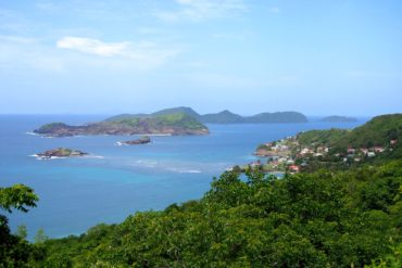 Petit Nevis and surrounding islets off the south coast of Bequia, St. Vincent and the Grenadines   SBPR