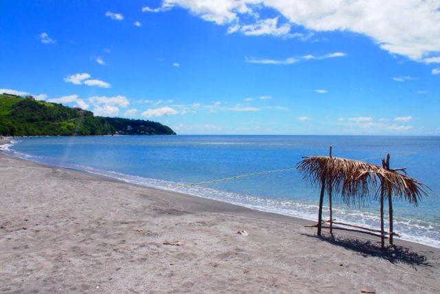 Silvery sands of Mero Beach, Dominica | SBPR
