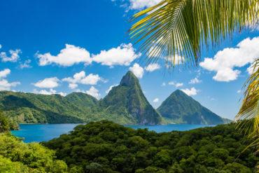 Jade Mountain, St. Lucia by Patrick Bennett
