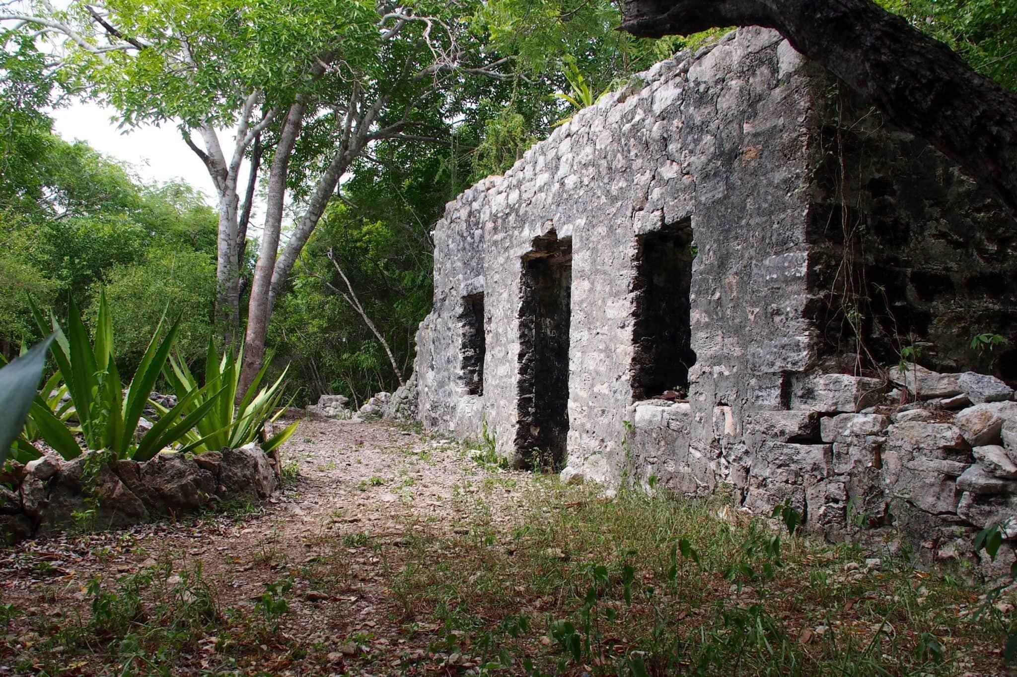 Taking In TCI History at Wade's Green Plantation, North Caicos