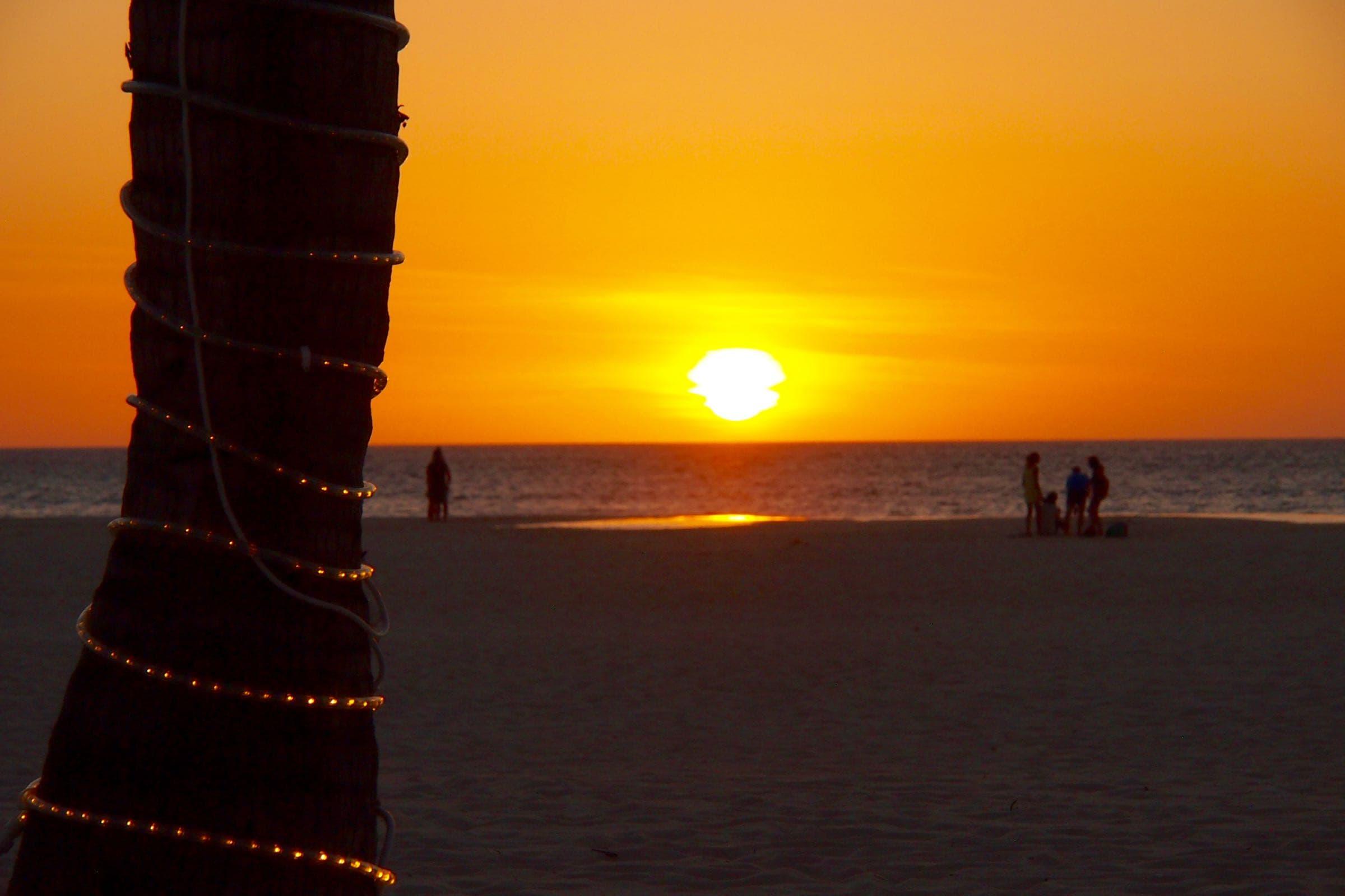 Holiday Season Sunset In Aruba Aruba