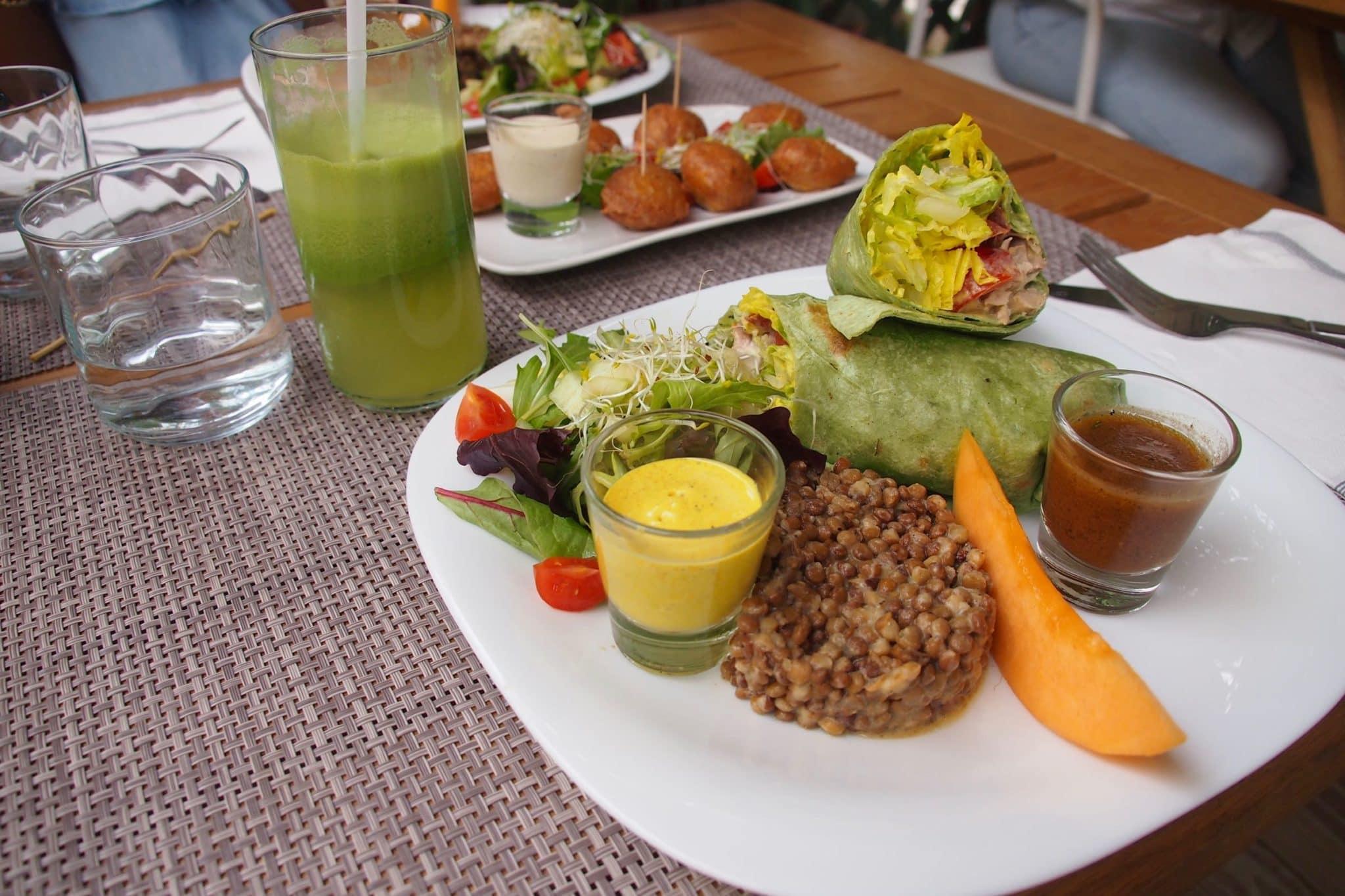 Fueling Up On Organic Eats and Treats at Natural Cafe, St. Martin