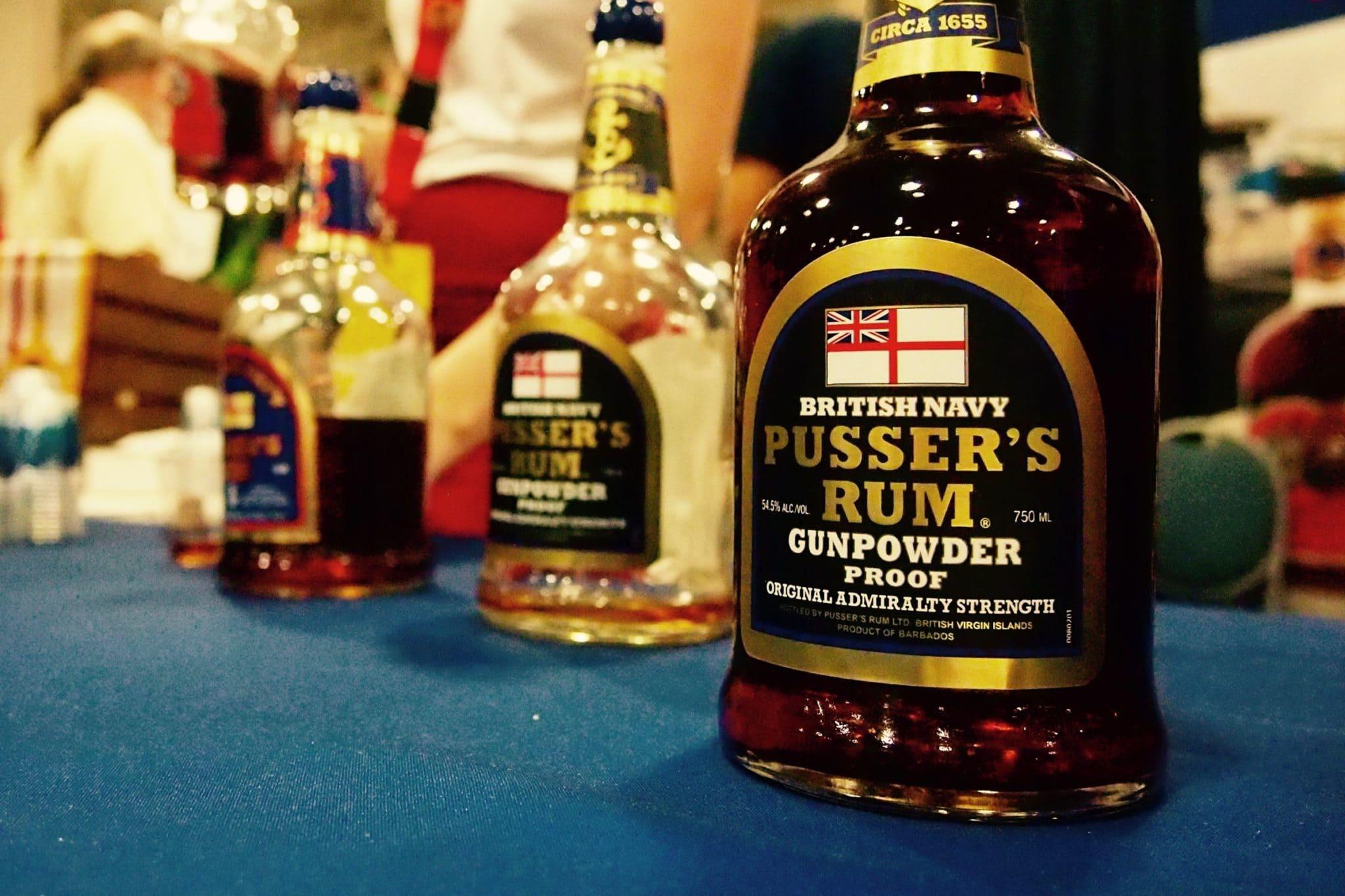 What's Old is Amazing in Pusser's Rum Gunpowder Proof