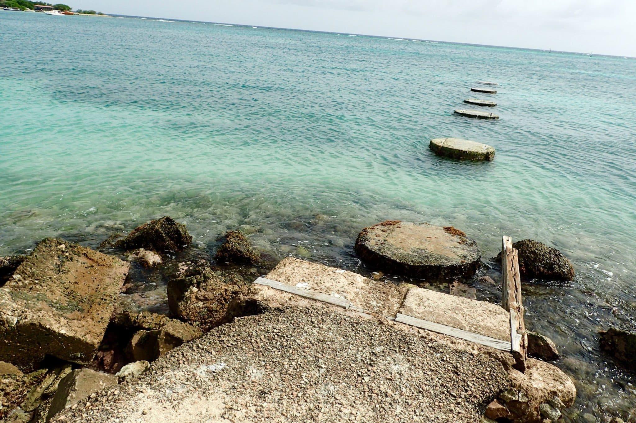 Six Hops Into The Sea at Rodger's Beach, Aruba