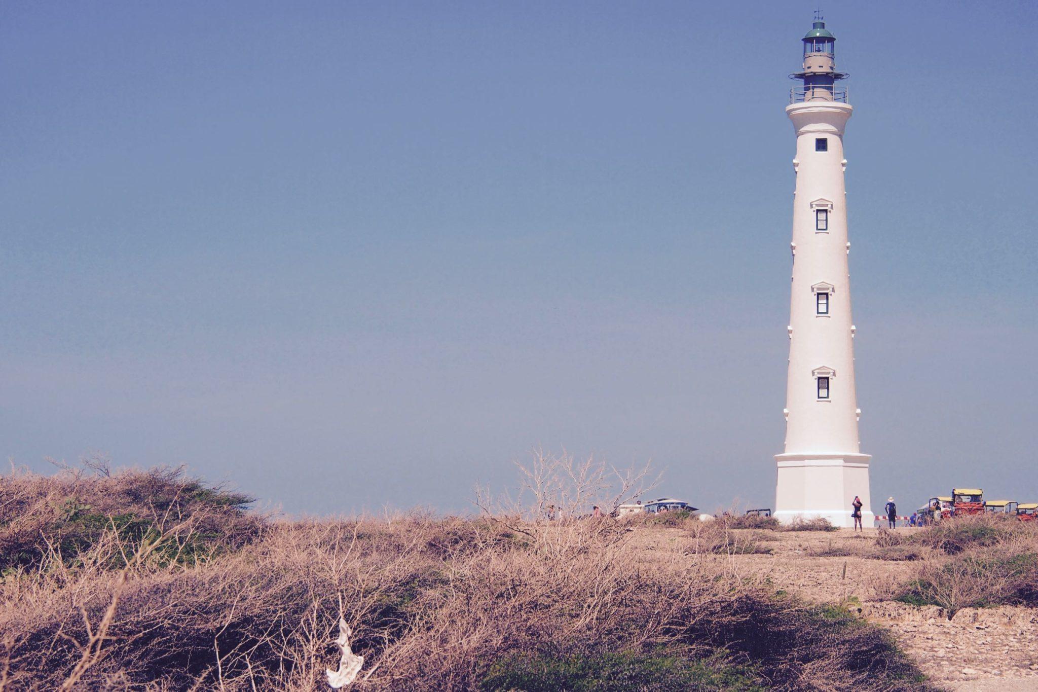Aruba's California Lighthouse Fantastically French