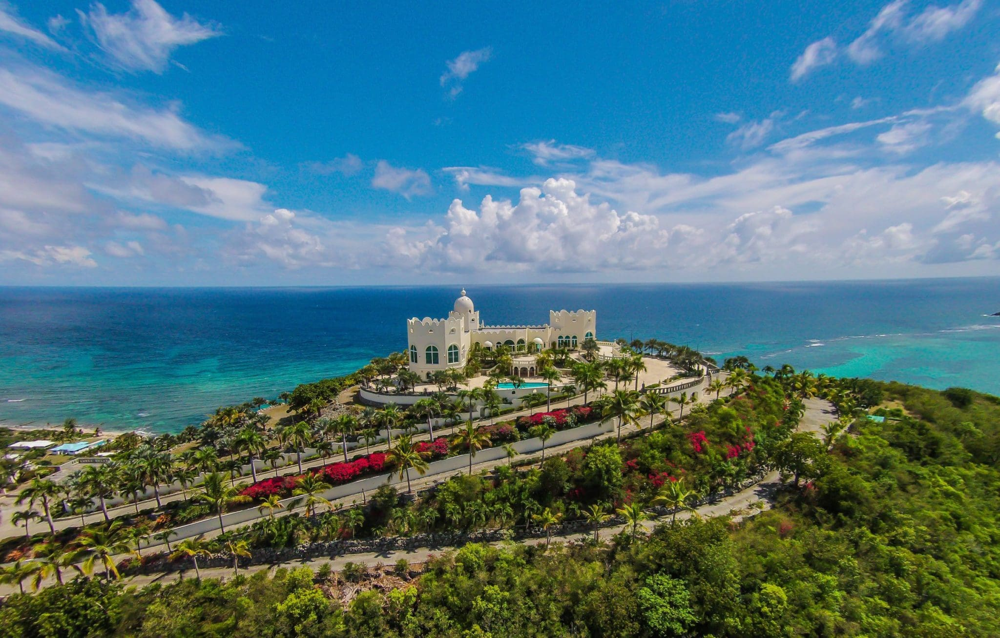 Own Your Own Fairytale Castle in the Caribbean