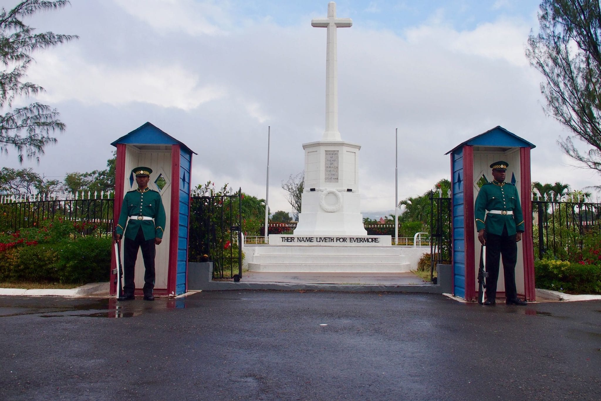 Changing The Guard at National Heroes Park, Jamaica: Uncommon Attraction