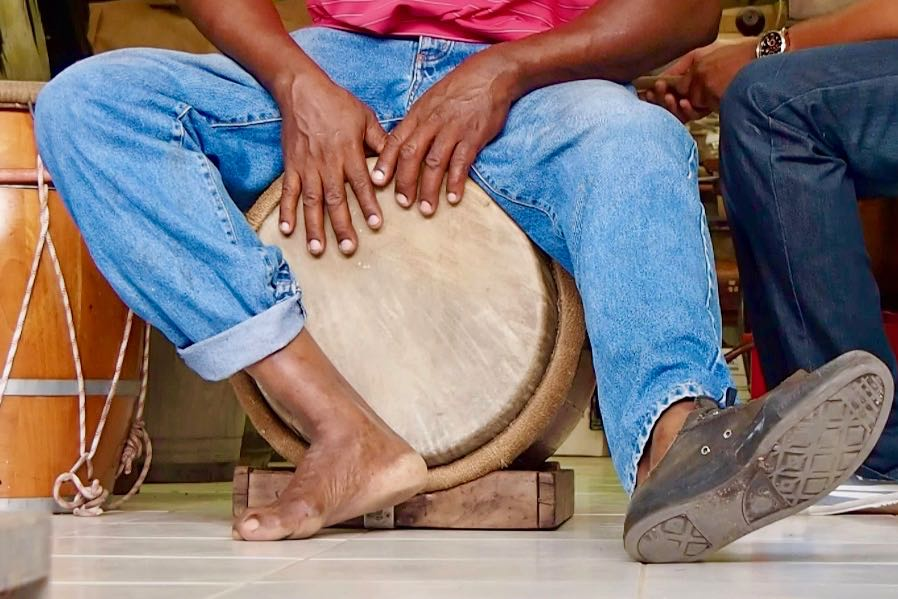Time Out for Tambour Drumming in Martinique