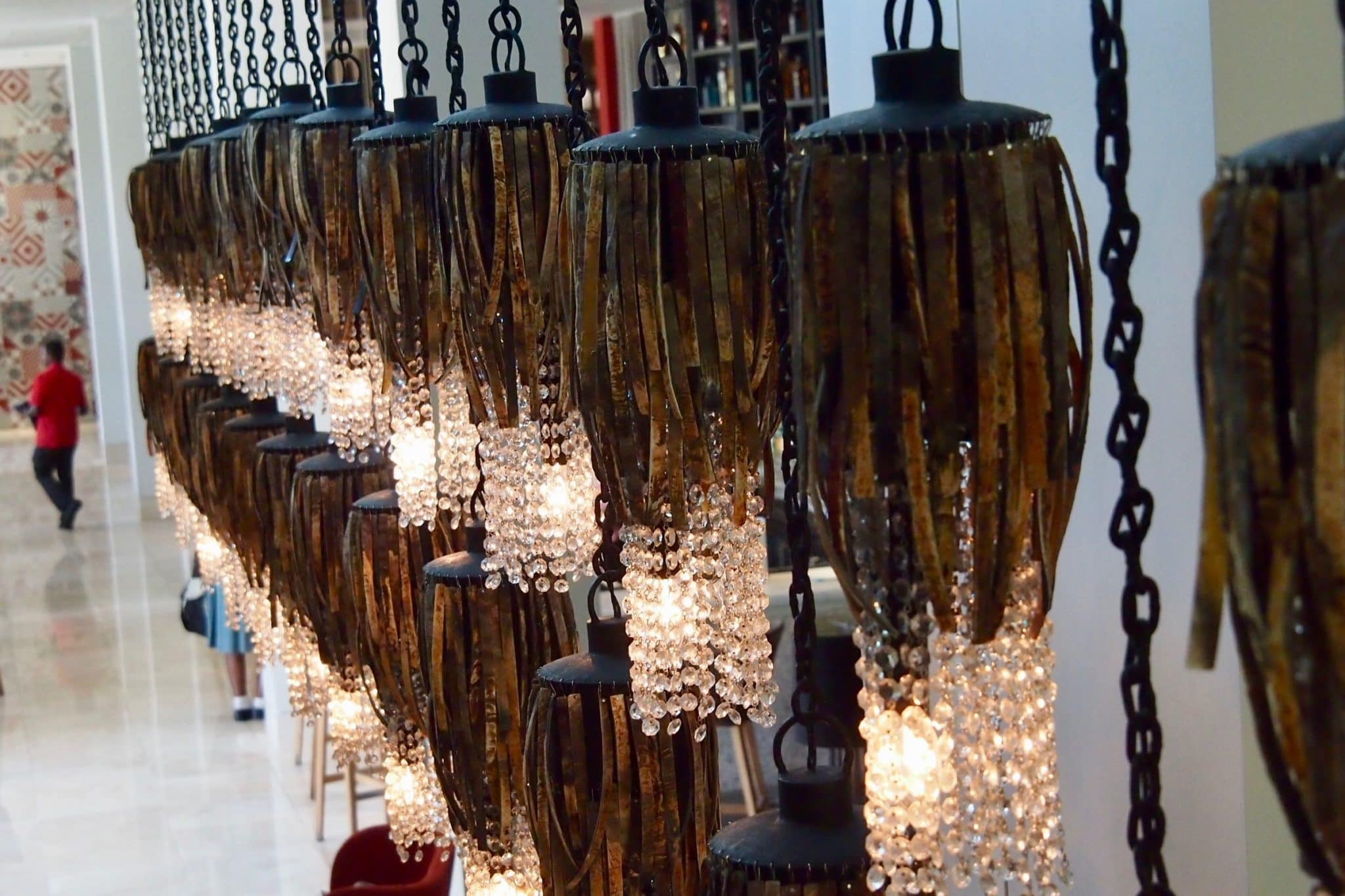 Uncommon Art: Cow Horns and Crystal Chandeliers in Haiti