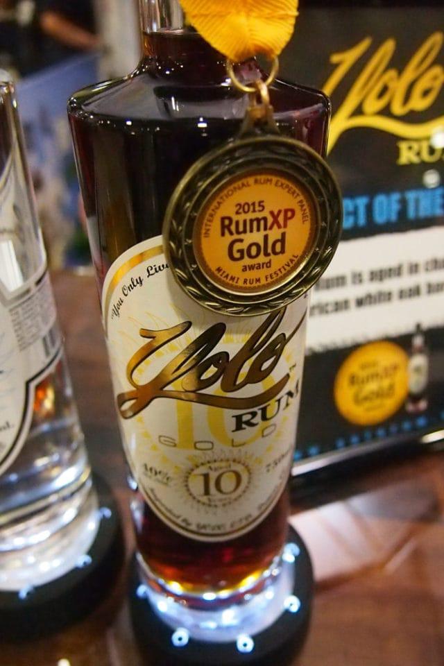 Yolo Gold, Gold Medal Winner, 2015 Miami Rum Renaissance Festival